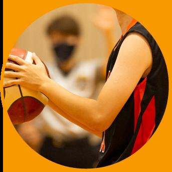 スポーツコース 女子バスケットボール専攻
