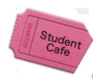 Student Cafeで使えるドリンク券