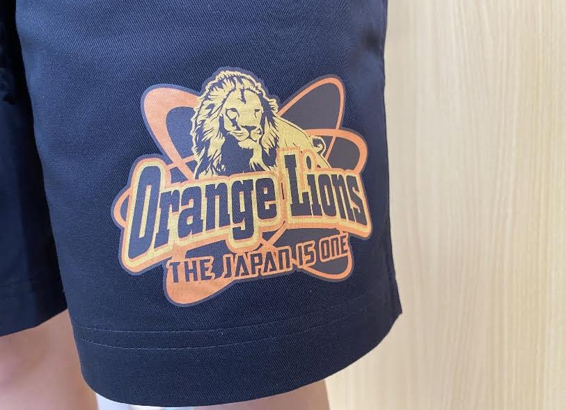 Orange Lion